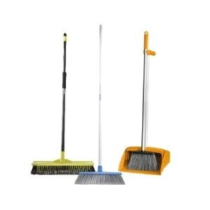 Brushes, Dust Pans, Brooms
