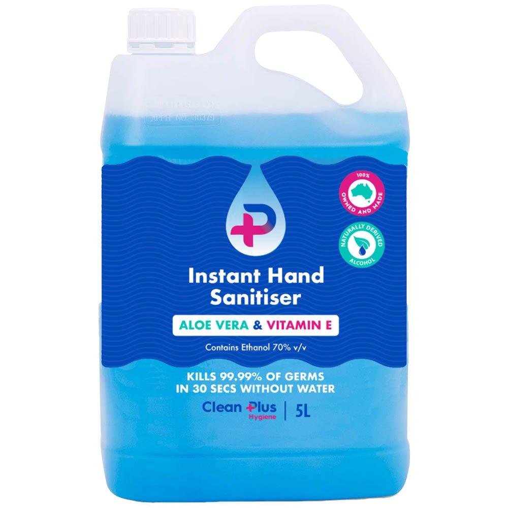 Clean Plus Instant Hand Sanitiser - 5Lt