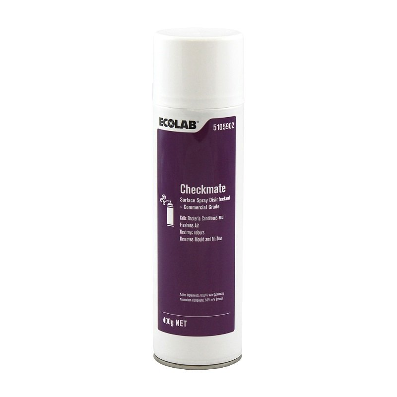 Ecolab Checkmate 400g Surface Disinfectant/EA.