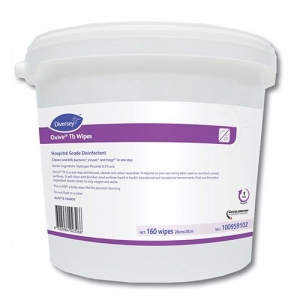 Diversey Oxivir Tb Large Wipes (160 wipes) (28 x 30cm sheet size)