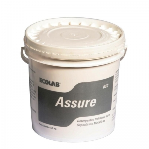 Ecolab Assure Powder - Presoak Detergent for Silver and Stainless Steel- 10Kg