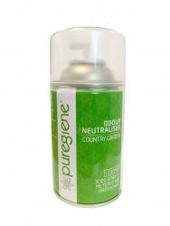 Air Freshener Puregiene Country Gard 3000 Sprays Metered Can