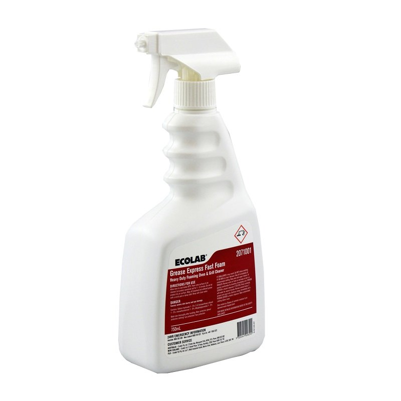 Ecolab Fast Foam - Oven and Grill Cleaner -750ml