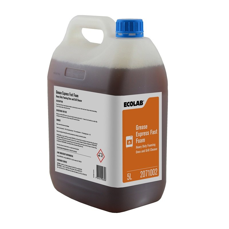 Ecolab Fast Foam- Oven & Grill Cleaner - 5Ltr