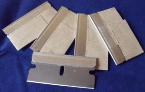 Blade single edge 5 pack (suit metal scraper)