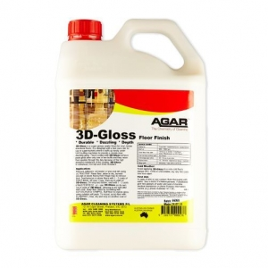 Agar 3D Gloss - Floor Sealer - 5Ltr