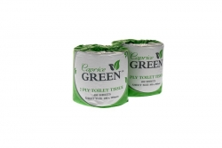 Caprice T/paper 2ply 400sh Green Recycled 48rolls/ctn
