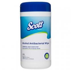 SCOTT Alcohol Antibacterial Wipe