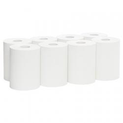 SCOTT Roll Hand Towel White 140m Ctn 8