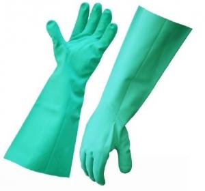 Gloves Solvent Resistant Elbow Length - per pair