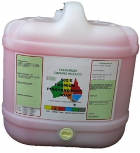 Chemibrush Hand Soap Pink - Hand and Body Cleaner - 15Ltr