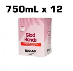 Ecolab Glad Hands - Skin Cleanser - 750mlx12/CTN
