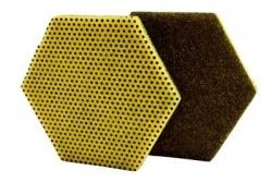 Scotch-Brite Dual Purpose Scour Pads 96 Hex - each
