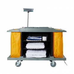 Compass Compact Open Front Housekeeping HK Trolley