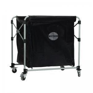 Compass Collapsible Laundry Cart 300L w/ Vinyl Bag Complete