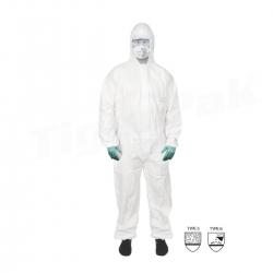 Polypropylene Coveralls Type 5/6 Size L (50pcs)