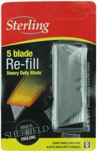Blade Heavy Duty 5Pack - Suit Stanley Knife