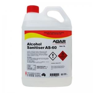 Agar Alcohol Sanitiser AS-60 - 5Ltr