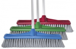 Broom 450mm Indoor Blue