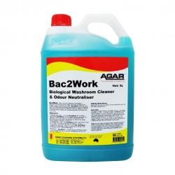 Agar Bac2Work - Biological Washroom Cleaner & Odour Neutralizer - 5L