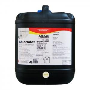 Agar Chloradet - Foaming Cleaner - 20Ltr