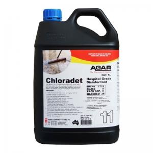 Agar Chloradet - Foaming Cleaner - Hospital Grade Disinfectant 5Ltr