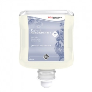 Deb Refresh Luxury 3in1 Hair & Body-with Conditioner-4 x2Ltr