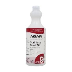 Agar Spray Bottle - Steel Shine 500ml - No Trigger