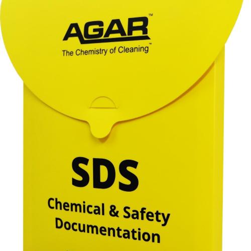 Agar SDS Holder Plastic - Yellow