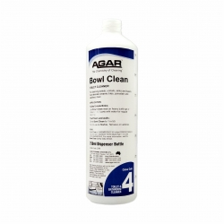 Agar Squirt Bottle Bowl Clean - Cap tap not included