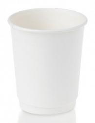 Cup - 8oz Double Wall White 500 per Box