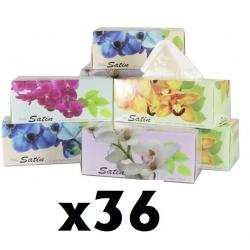 Polar Satin Facial Tissue 180Sh/pack x 36 packs/ctn