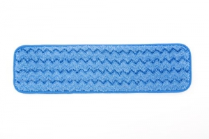 Q4100 - Rubbermaid Microfibre Damp Room Mop -  BLUE