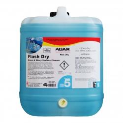 Agar Flash Dry - Glass Cleaner - 20Ltr