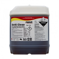 Agar Grill Clean - Grill and Oven Cleaner - 15Ltr