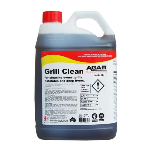 Agar Grill Clean - Grill and Oven Cleaner - 5Ltr