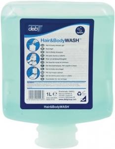 Deb Hair & Body - Hair and Body Wash - 6 x 1Ltr