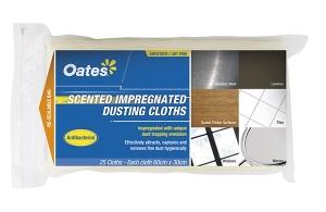 Oates Impregnated Dusting Cloths 25pcs