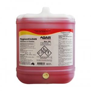 Agar Hygieniclean - Food Safe Detergent & Sanitiser - 20L
