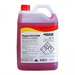 Agar Hygieniclean - Food Safe Sanitiser & Cleaner- 5L