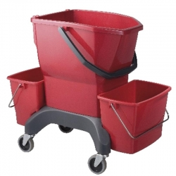 Bucket 25Lt Ergo Red