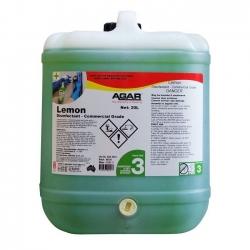 Agar Lemon - Disinfectant Commercial Grade - 20Ltr
