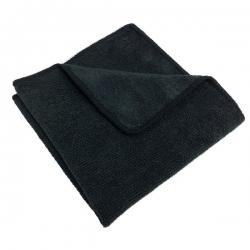 Jet Black - Cloth Microfiber Nab - Black (10/pack)