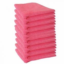Nab Cloth Microfiber Nab Red (10/PACK)