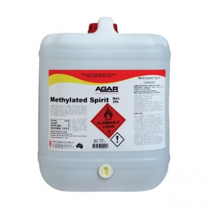 Agar Methylated Spirit - Glass Cleaner - 20Ltr