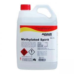 Agar Methylated Spirit - Glass Cleaner - 5Ltr