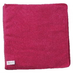 Microfibre Cloth Oates Value Pack Red, 35cm x 35cm, 10/pack
