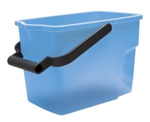 Bucket 9Ltr Rectangle Blue