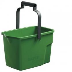 Bucket 9Ltr Rectangle Green