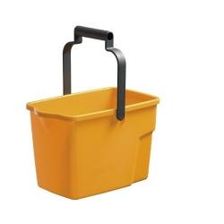Bucket 9Ltr Rectangle Yellow